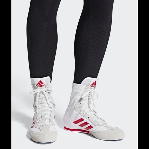 NWOB Adidas Men's Box Hog X Special Boxing shoes shoes shoes